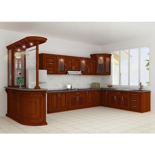 Tủ bếp gỗ công nghiệp  cao cấp giá rẻ cam kết chất lượng