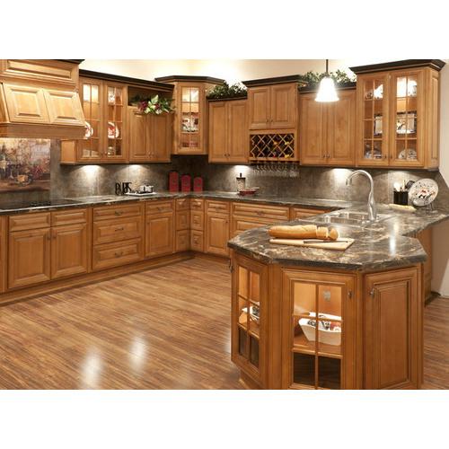 Tủ bếp MDF chữ G phủ Laminate