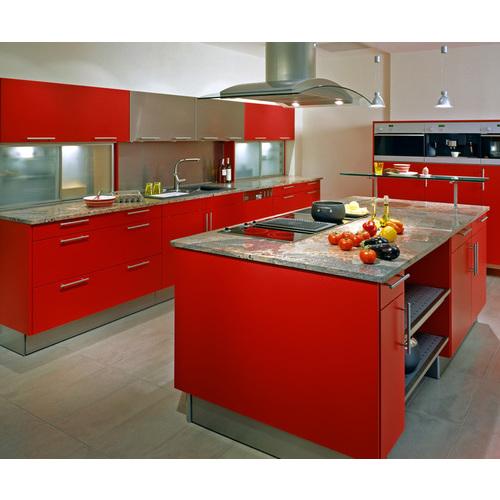 Tủ Bếp Gỗ Acrylic Cho Phòng Bếp Đẹp