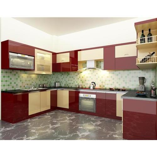 Tủ bếp gỗ laminate sang trọng đến từng đường nét