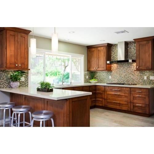 Tủ bếp gỗ thông cao cấp niềm ao ước của mọi gia đình