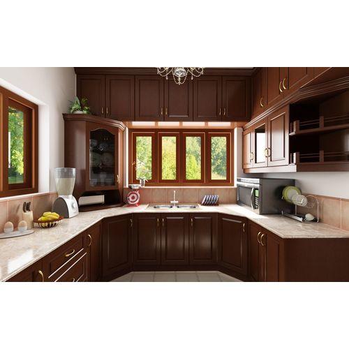 Đặc điểm nổi bật của tủ bếp gỗ veneer sồi sang trọng
