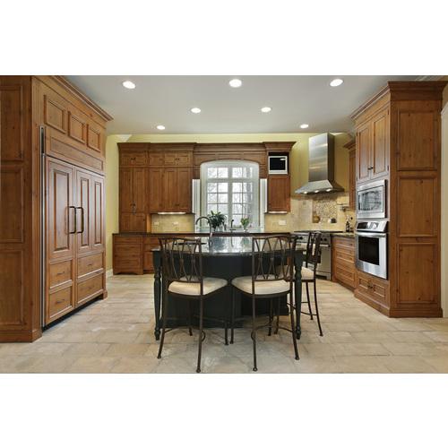 Thiết kế tủ bếp gỗ xoan đào giá rẻ