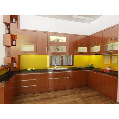 Tủ bếp inox vân gỗ bền đẹp đi cùng với thời gian