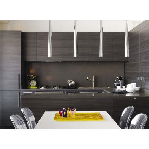 Tủ bếp gỗ chữ I phủ Laminate