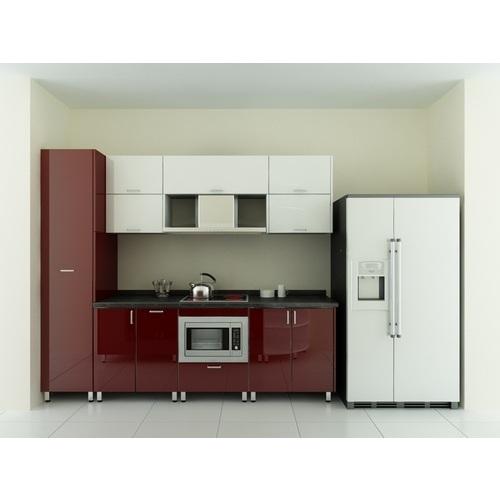 Tủ bếp gỗ chữ I phủ Acrylic