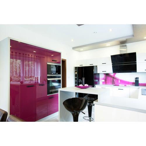 Tủ Bếp PVC chữ U đẹp có quầy Bar