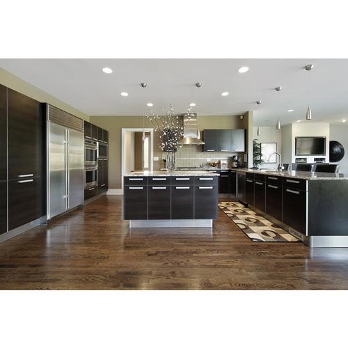 Tủ bếp gỗ chữ U cho chung cư