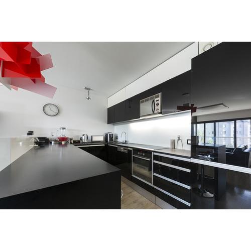 Tủ Bếp PVC Đẹp Màu Đen
