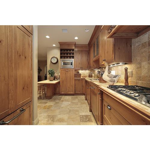 Tủ bếp gỗ chữ L đẹp sang trọng
