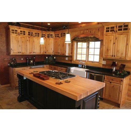 Tủ bếp gỗ xoan đào bắc đẹp tiện dụng