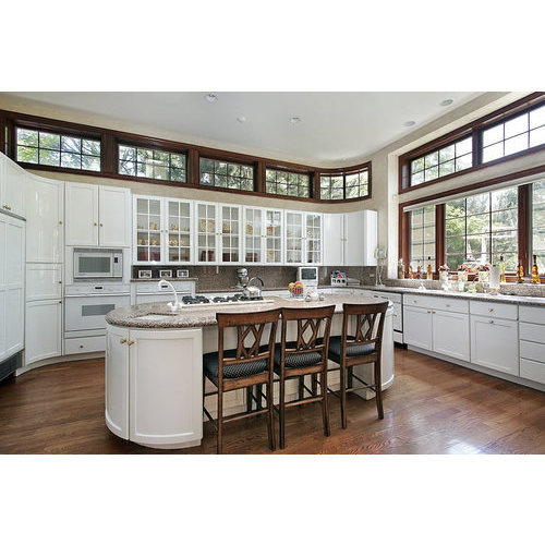 Tủ Bếp PVC Đẹp Màu Trắng