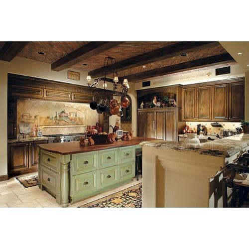 Tủ bếp gỗ thông giá rẻ giúp mẹ nội trợ tiết kiệm chi phí