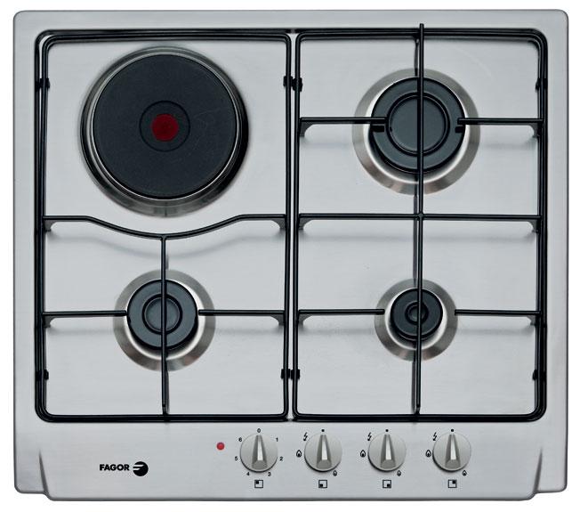 Bếp ga kết hợp bếp điện Fagor 6FID 31 MLSX/BUT