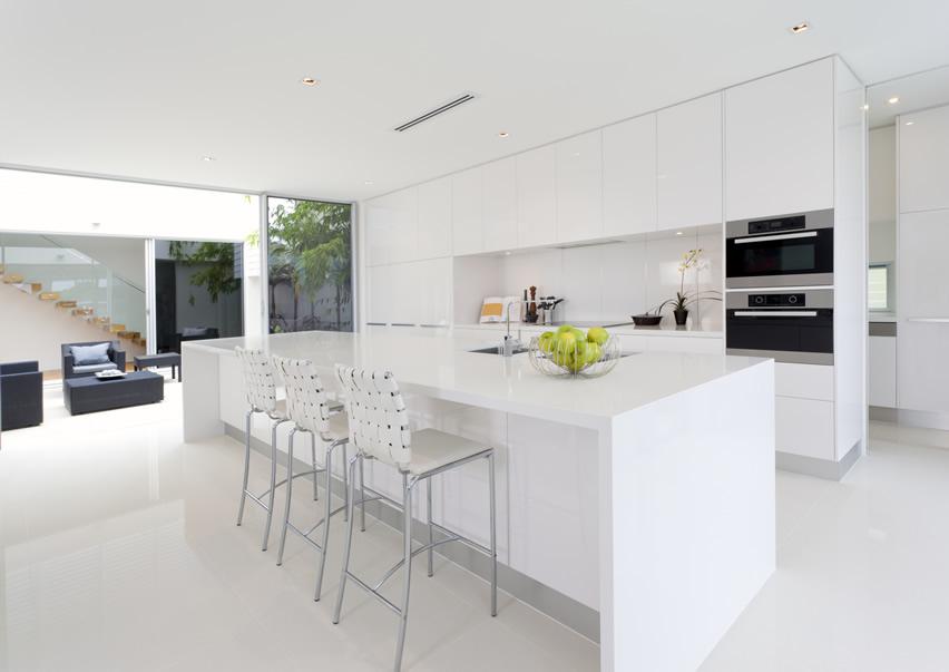 Tủ Bếp PVC Đẹp Cho Nhà Chung Cư