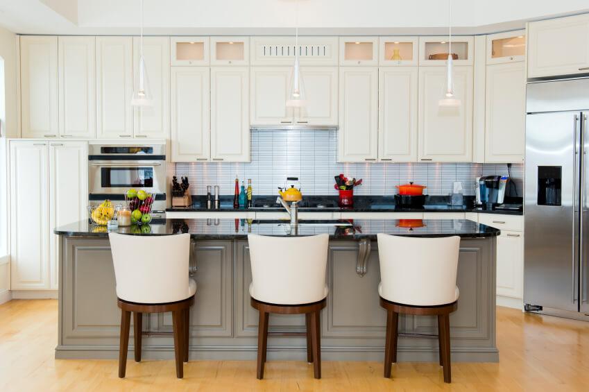Tủ bếp PVC đẹp cho chung cư sang trọng