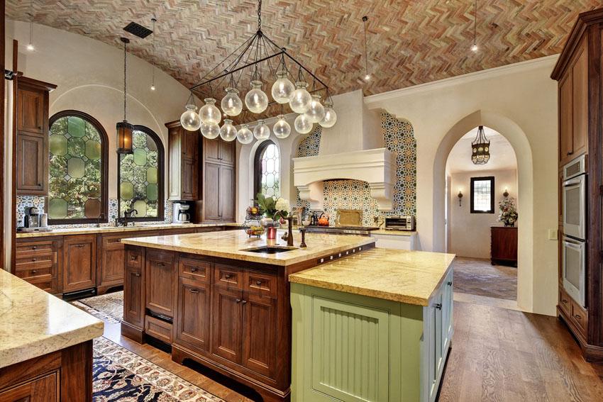 Tủ Bếp PVC Đẹp Cho Biệt Thự